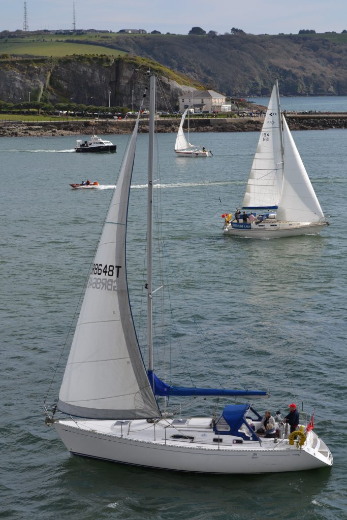 Sailing Boats, Plymouth Sound