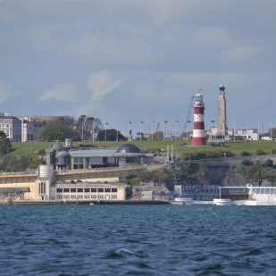 Plymouth Hoe overlooks the MPA