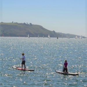 SUP, Plymouth Sound © Beth Siddons