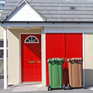 Residential waste bins